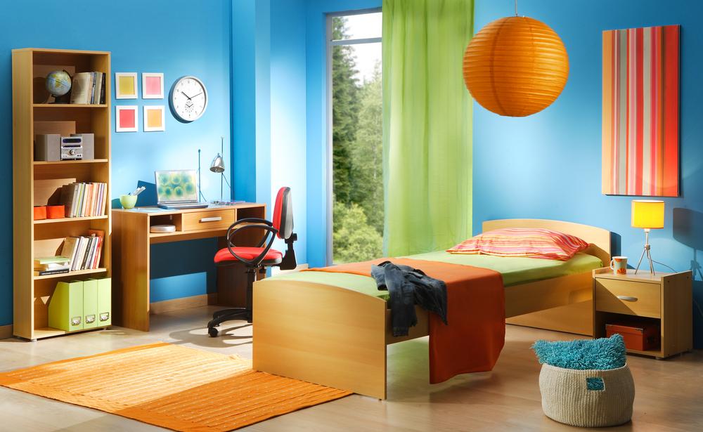 Habitación de colores