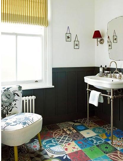 baldosas hidraúlicas para suelos de bano revestimientos