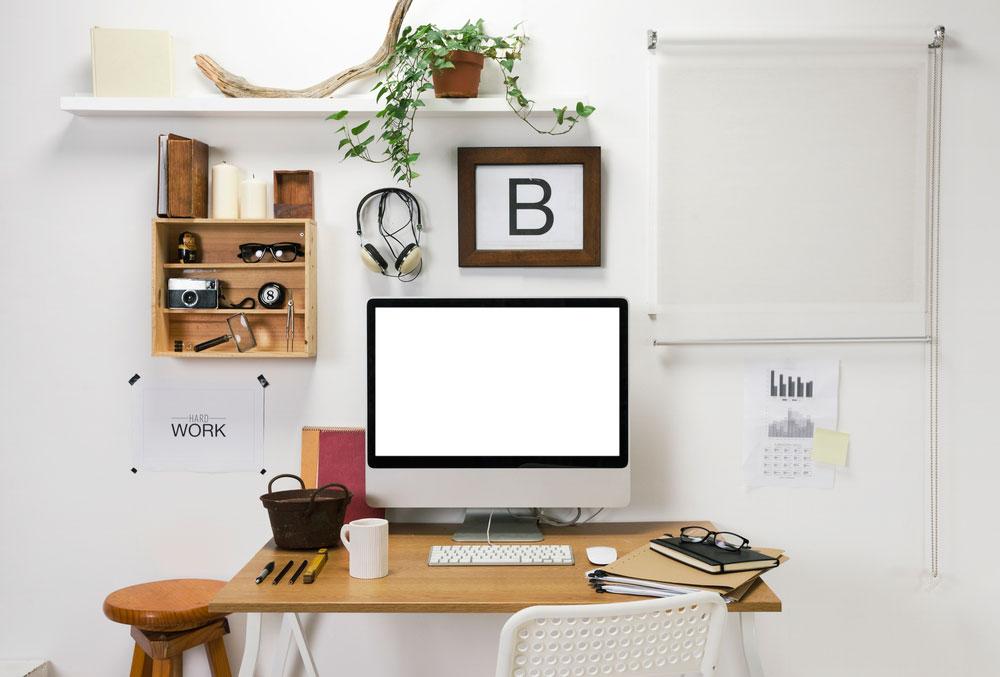 espacio de estudio mesa de trabajo reformas en Bizkaia Zuhaldi
