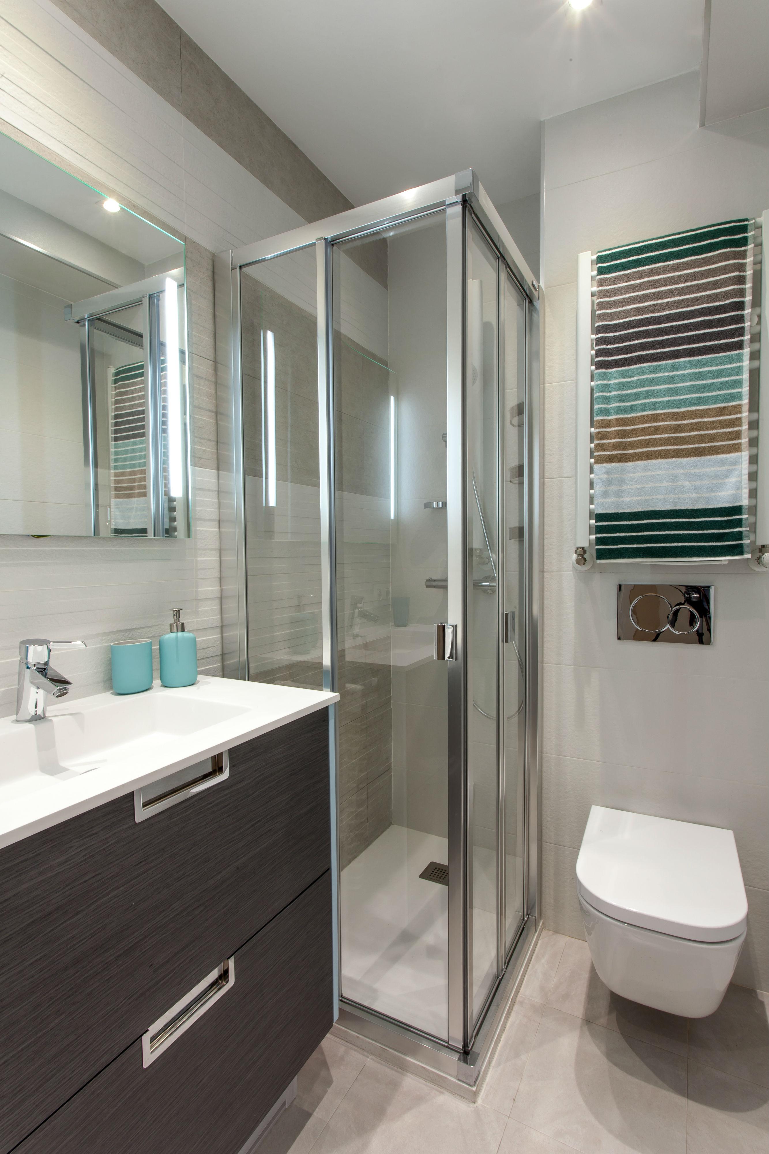 Baño reformado en vivienda de Basauri