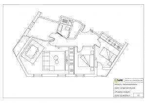 Plano de vivienda en basauri
