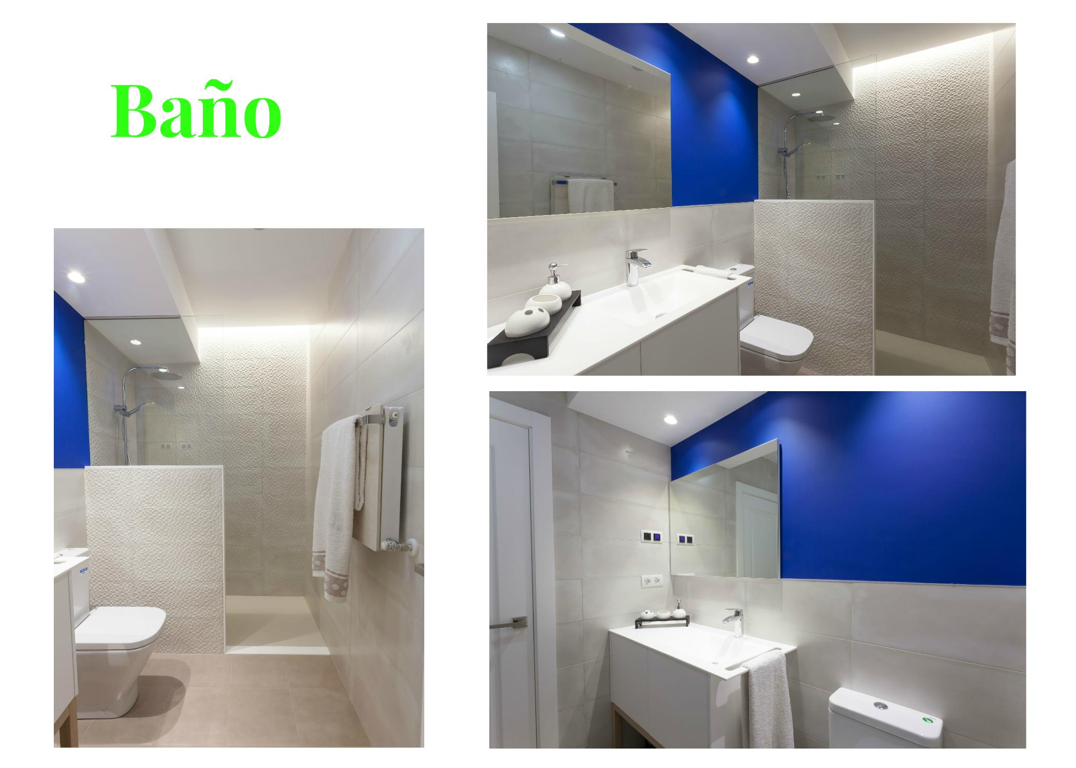 Reforma integral de baño en una vivienda de arrigorriaga