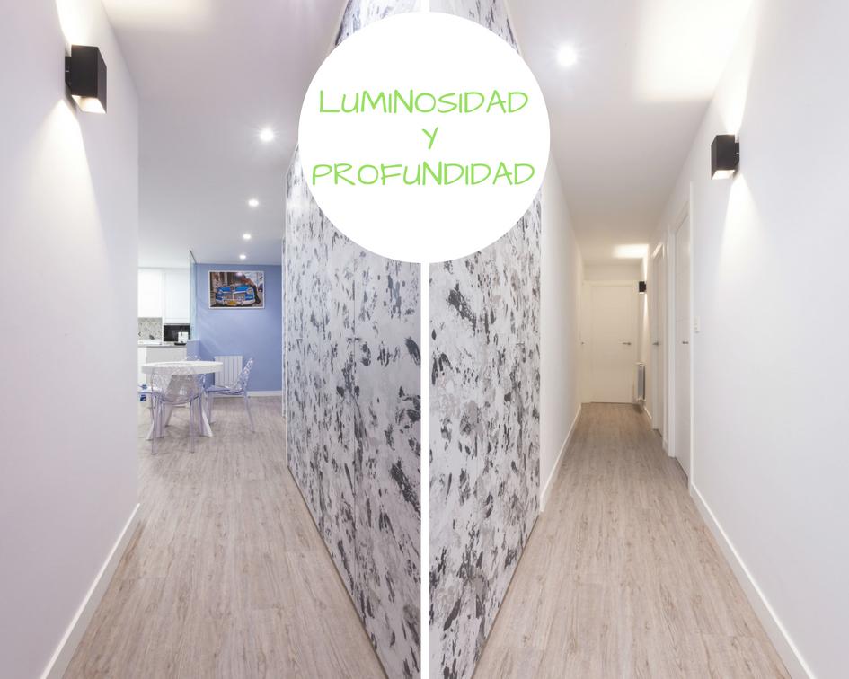Reforma integral de un pasillo en una vivienda Galdakao